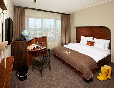 25 hours hotel Havencity in Hamburg