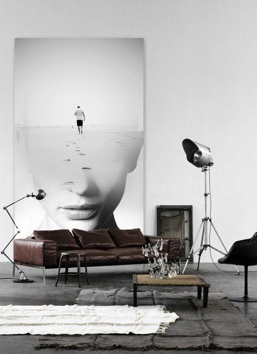 Super Denk groot: XL Kunstwerk, Fotografie of Print aan je muur WR-02