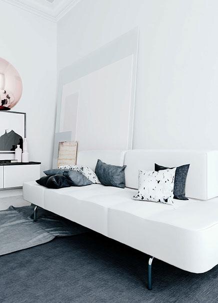 3d ontwerpen van een design woonkamer inrichting for Inrichting huis ontwerpen