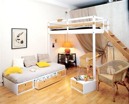 6 interieur idee n voor kleine ruimtes inrichting - Outs kleine ruimte ...