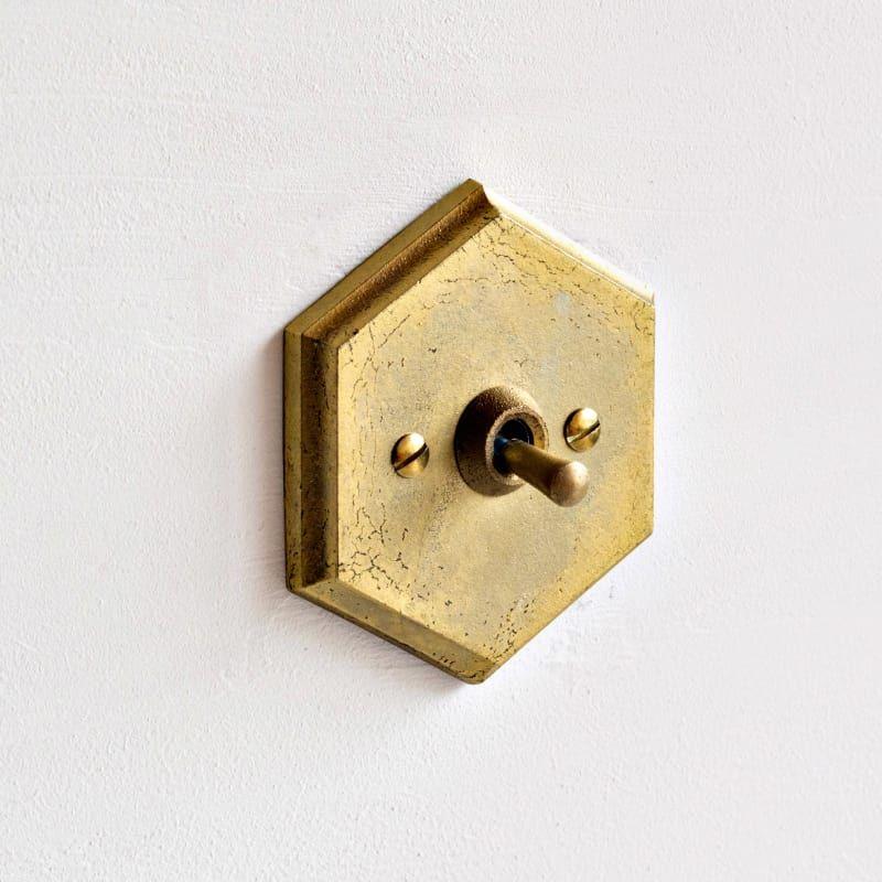 Japanse interieur merken Futagami gouden lichtschakelaar