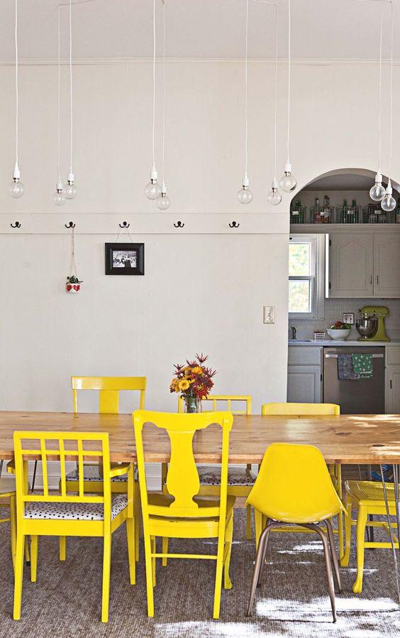 Geliefde Verschillende eetkamerstoelen in dezelfde kleur combineren  YN35