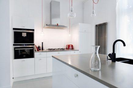 Lichte loft appartement uit Polen