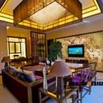 Prachtig Chinees behang in huis