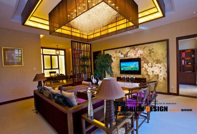 Prachtig Chinees behang in huis  Inrichting-huis.com