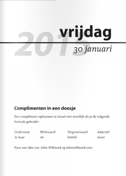 Complimentenkalender 2015 Haystack Nya Interieurontwerp5