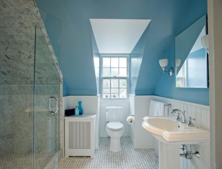 Interieur idee n dakkapel inrichting - Lay outs badkamer ...