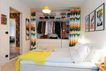 Designed-bedrooms-in-a-Scandinavian-style-colorful-curtains-in-dresses-Schrenk