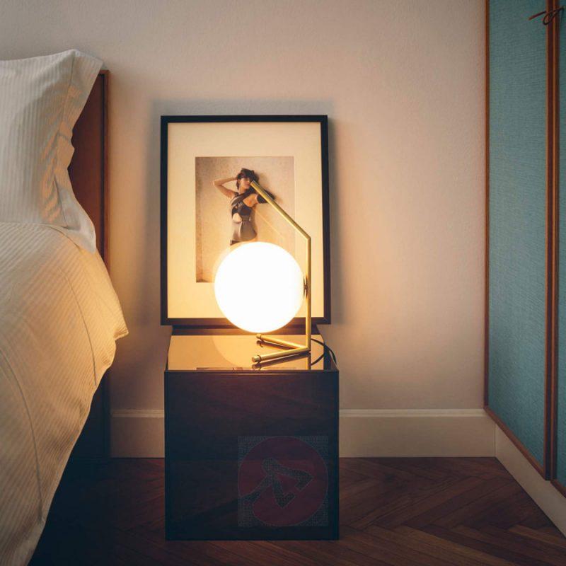 5x Designtafellampen