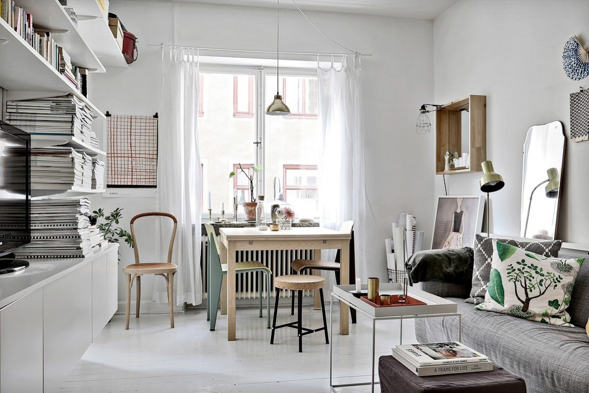 Fijn klein wonen in een appartement van 28m2 inrichting for 25 m2 wohnung einrichten