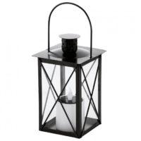 Globo solar lantaarn zwart/goud - LED lamp