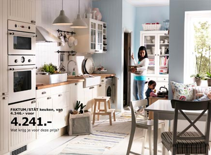 IKEA keukens RVS