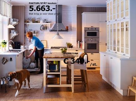 Leuke Keuken Ideeen : Ikea keukens voorbeelden inrichting huis.com