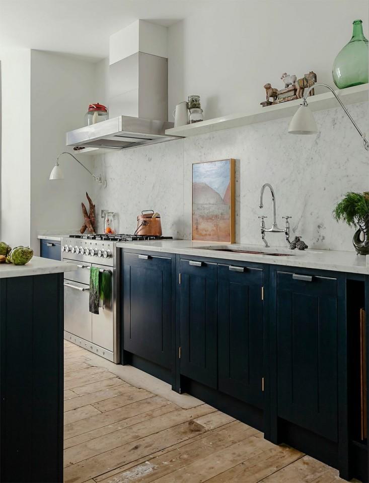 Donkerblauwe Keuken : In de keuken van Skye Gyngell Inrichting huis com