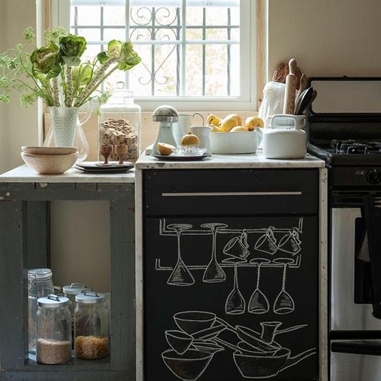 Elegant new yorks appartement inrichting - Credence keuken wit ...