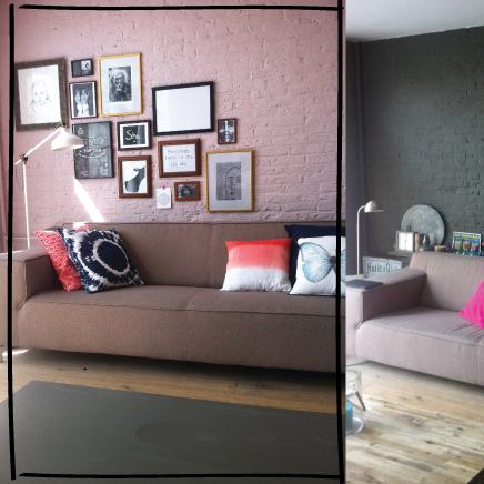 Kleur voor en na inrichting - Voor na gerenoveerd huis ...