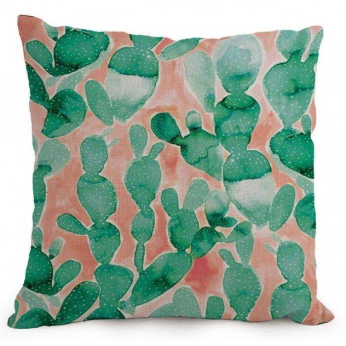 livv-lifestyle-aquarel-sier-kussen-hoes-cactus-groen-koraal-rood-700x700