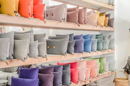 Nya Interieurontwerp Dot Cushions Hay store Amsterdam photo Souraya-Binti Home