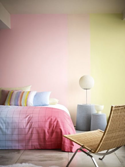 Nya Interieurontwerp Hay S&B Minimal Collection Syrup Dekbedovertrek kleurovergang dip dye photo bobvila