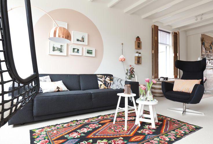Vt Wonen Woonkamer : Vt wonen woonkamer inspiratie. gallery of unieke paarse muur