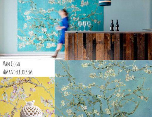 Nya Interieurontwerp van Gogh behang BN Wallcoverings Amandelbloesem