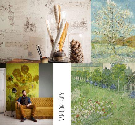 Nya Interieurontwerp van Gogh behang BN Wallcoverings Van Gogh 2015 2