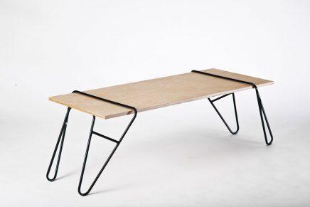 Nya Interieuronwerp eetkamertafel Michael Bernard design-milk.com