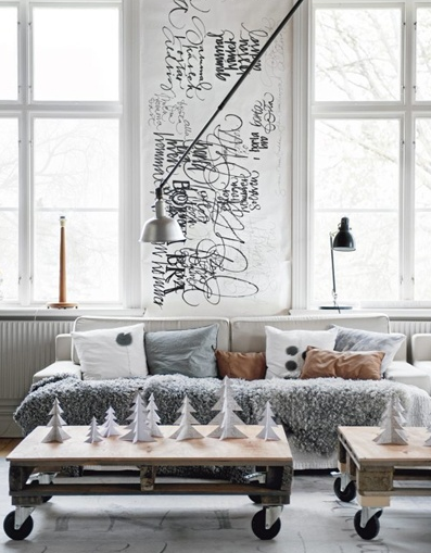 Een scandinavische kerst in huis inrichting for Kerst ideeen voor in huis