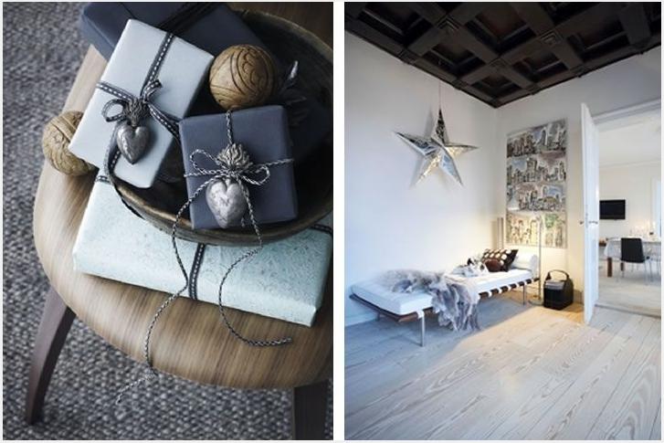 Woonkamer kerst decoratie for Kerst ideeen voor in huis