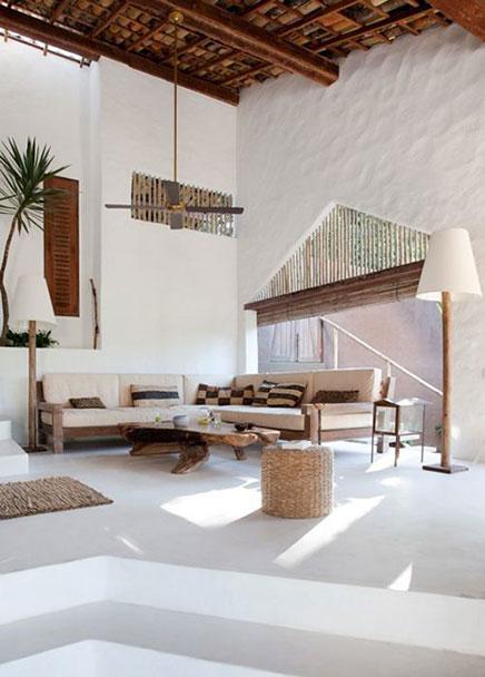 Afrikaanse sfeer in huis