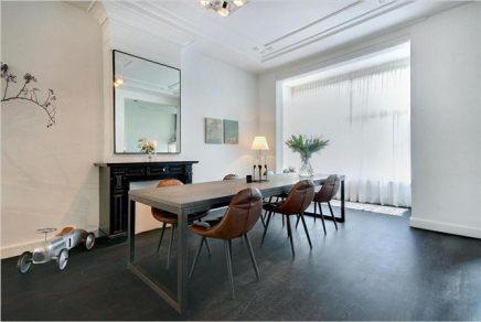 Amsterdamse karakteristieke woonkamer
