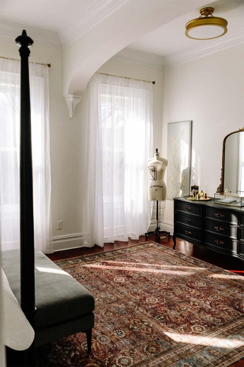 antiek dressoir slaapkamer