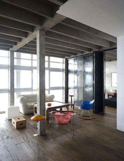 Van appartement tot industriele loft inrichting - Huis loft ...