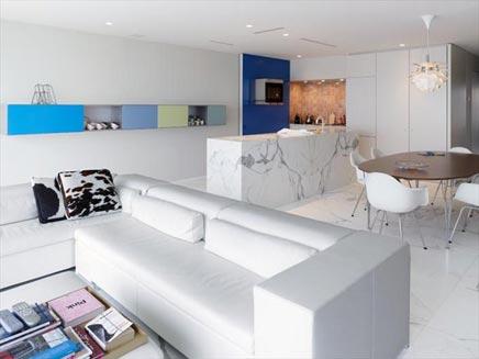 Appartement in duinbergen aan zee inrichting for Interieur appartement aan zee