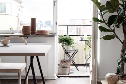 Appartement op 3 verschillende manieren en stijlen ingericht