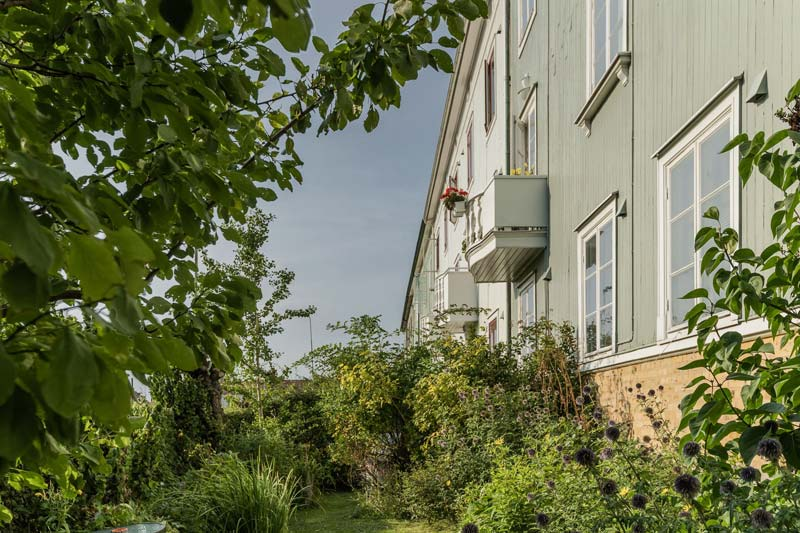 appartement groene gevel goteborg