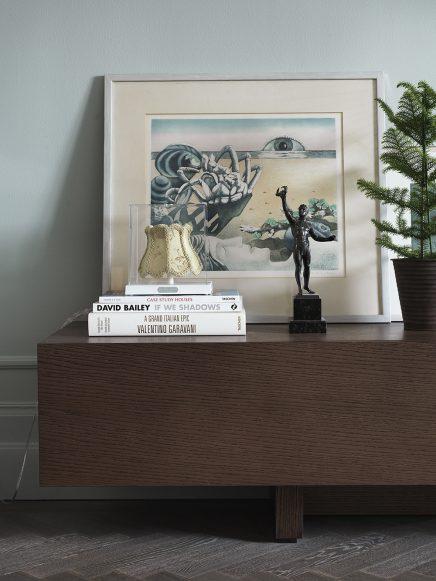 Appartement met mooie grijs groene muren | Inrichting-huis.com
