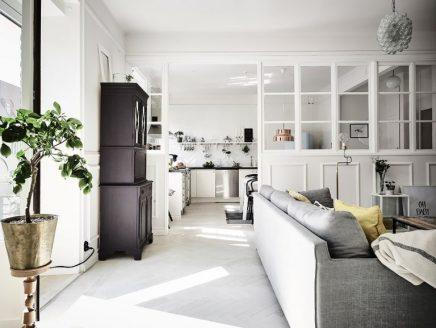 Appartement mooie scheidingswand