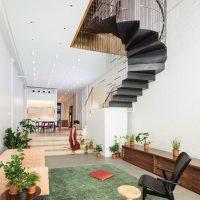 Architect Dash Marshall voegt twee woningen samen tot één grotere familiewoning