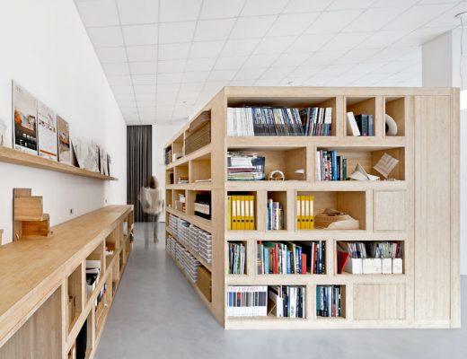 Architect en e-commerce bedrijf delen kantoor