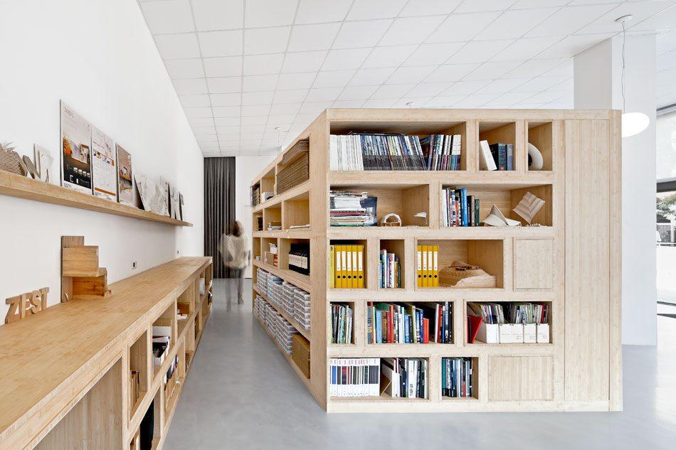 Architect en e commerce bedrijf delen kantoor inrichting for Kantoor architect