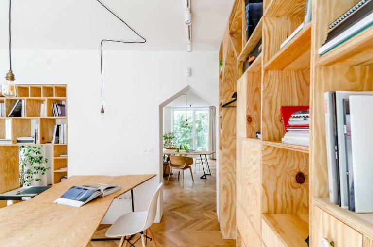 Architecten Andrew en Petya verbouwen een appartement tot hun kantoor!
