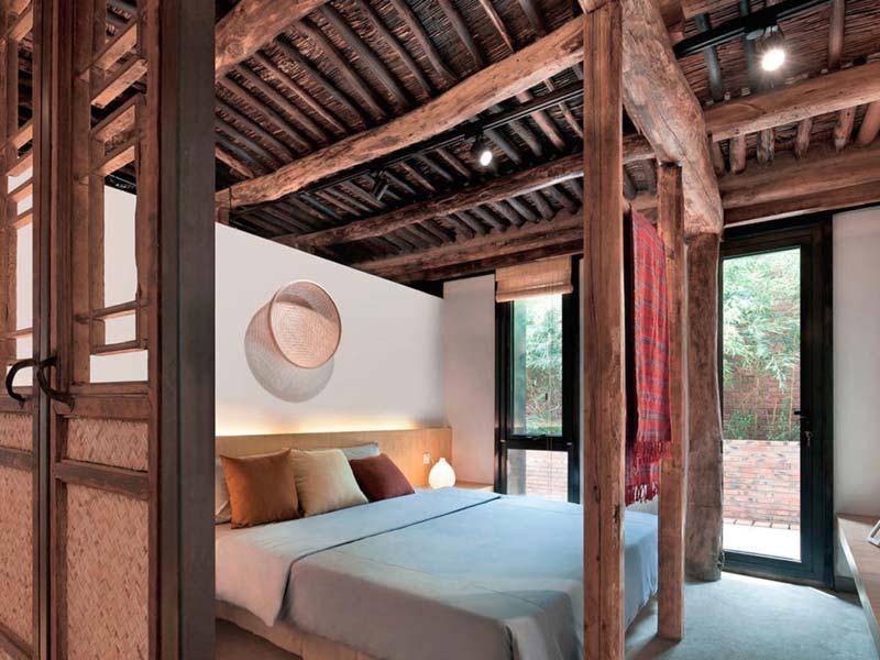 Authentieke Chinese deuren slaapkamer
