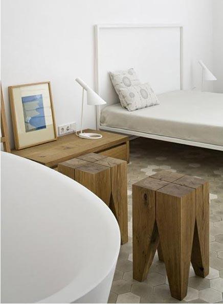 Authentieke slaapkamer in Barcelona