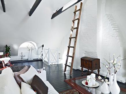 Authentieke woonkamer uit Zweden