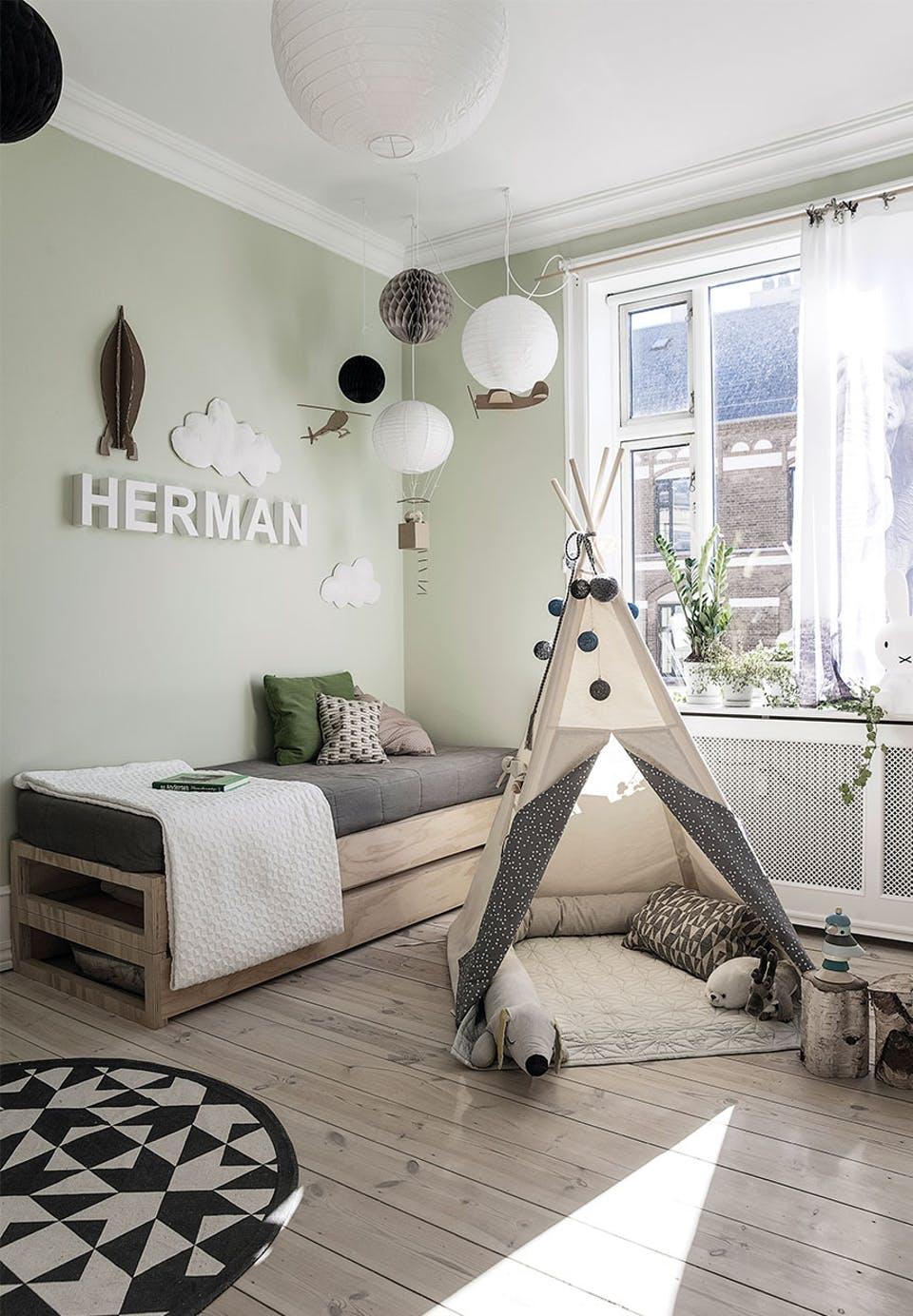 Avontuurlijke kinderkamer van Herman