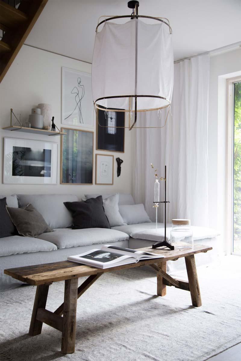 Ay Illuminate Z1 hanglamp boven salontafel
