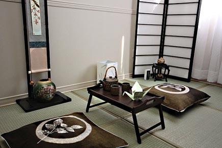 Aziatische interieur idee n inrichting - Japanse deco slaapkamer ...