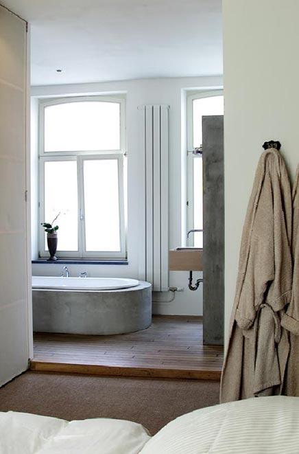 Beton Afwerking Badkamer ~ Badkamer met betonnen afwerking  Inrichting huis com