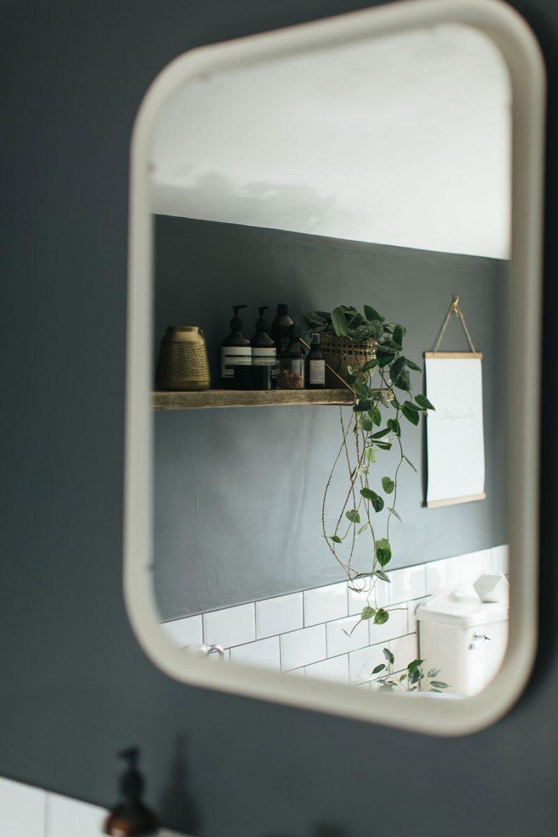 Badkamer make-over: van licht naar donker